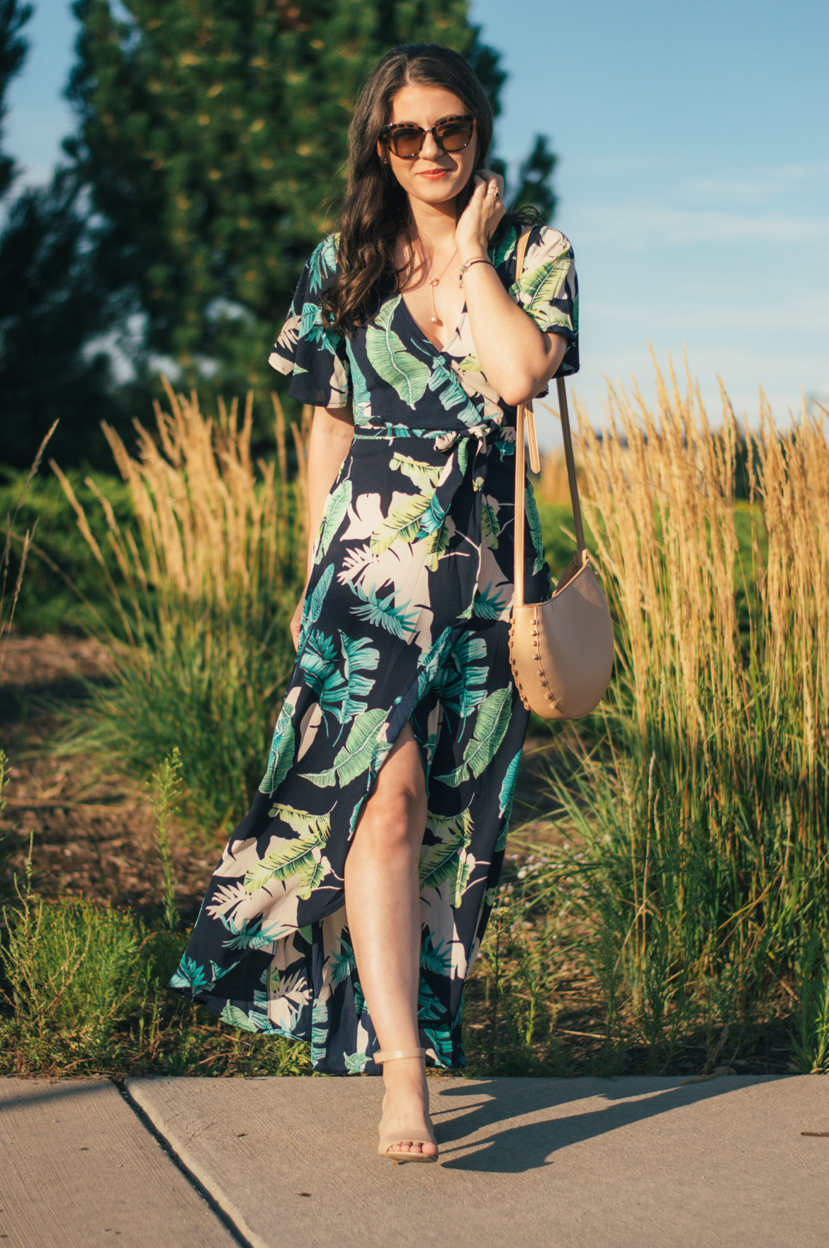 9e9ce595f75 THE MOST FLATTERING DRESS STYLE YOU LL EVER WEAR by Fashion in Flight shein  leaf